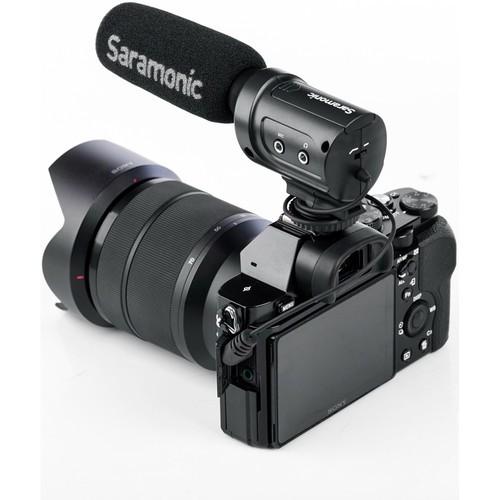 Saramonic SR-M3 指向式電容麥克風 內建監聽